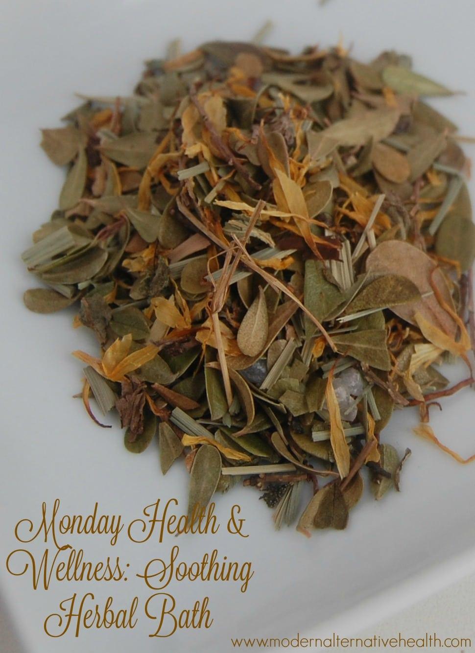 Monday Health & Wellness Soothing Herbal Bath pinterest