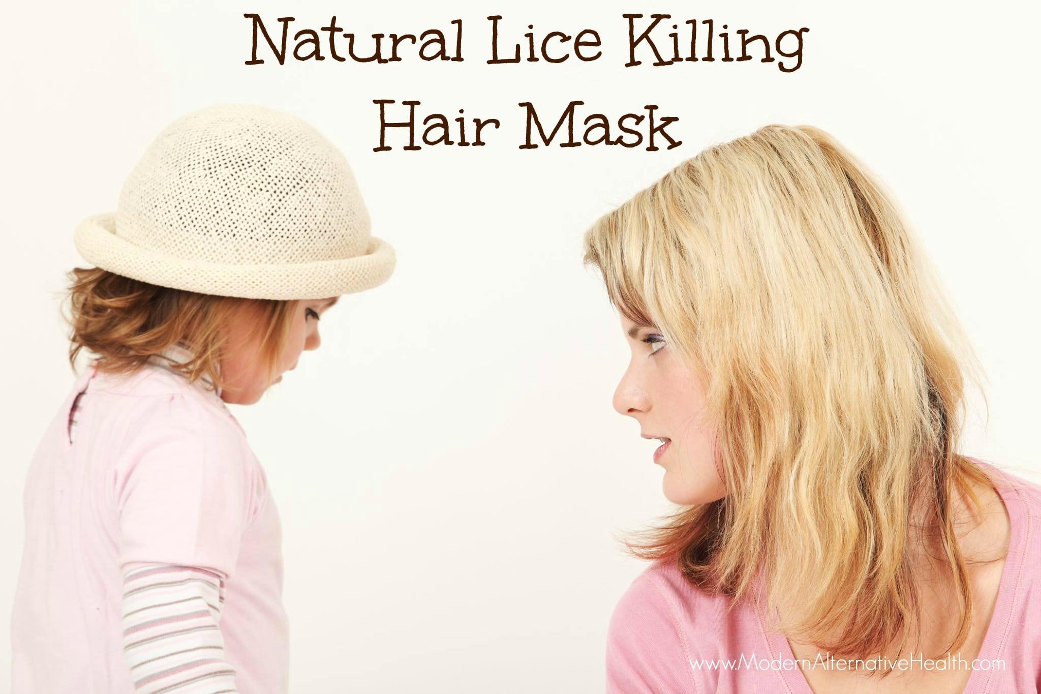 Natural Lice Killing Hair Mask
