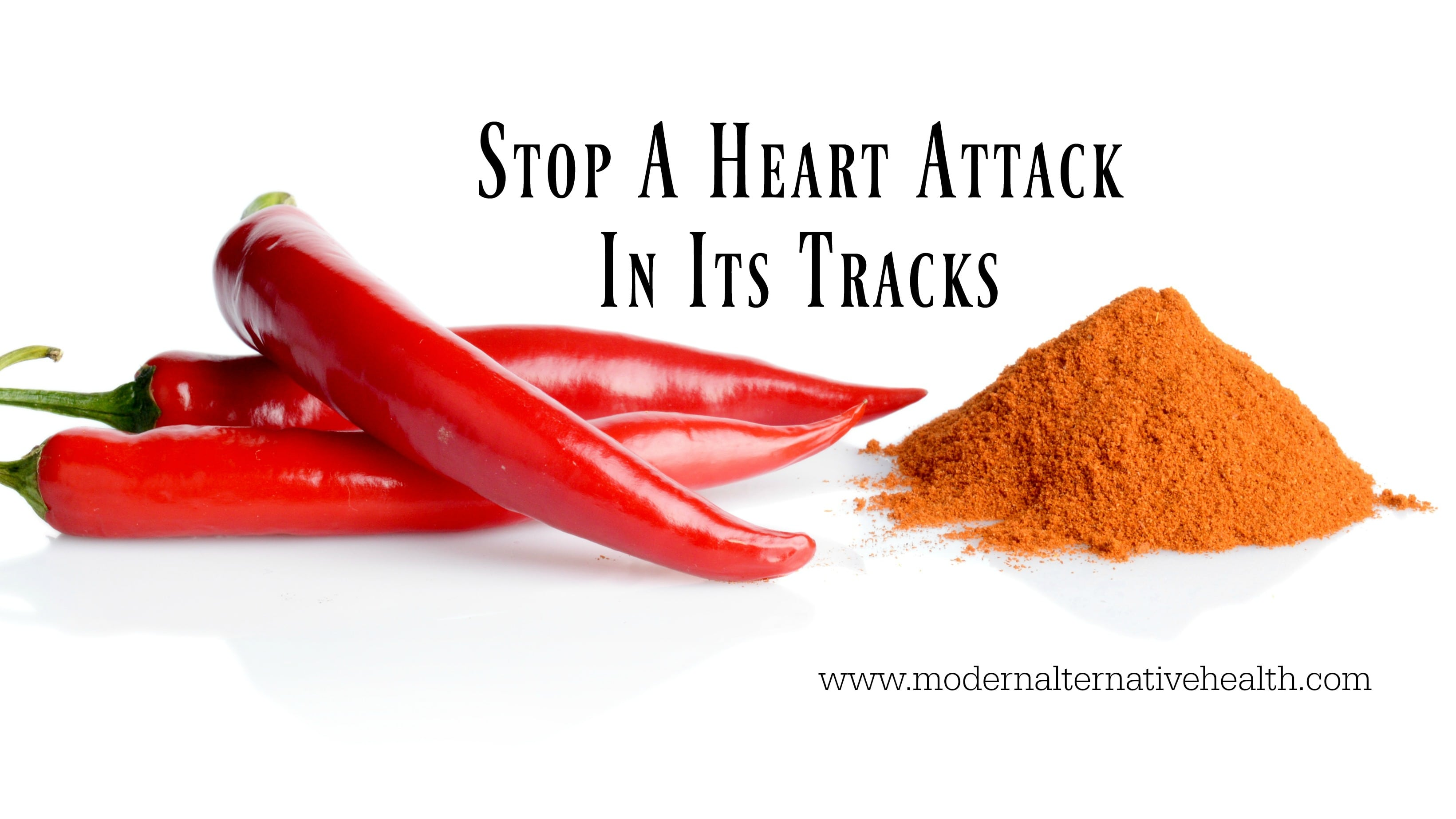 Stop A Heart Attack In Its Tracks