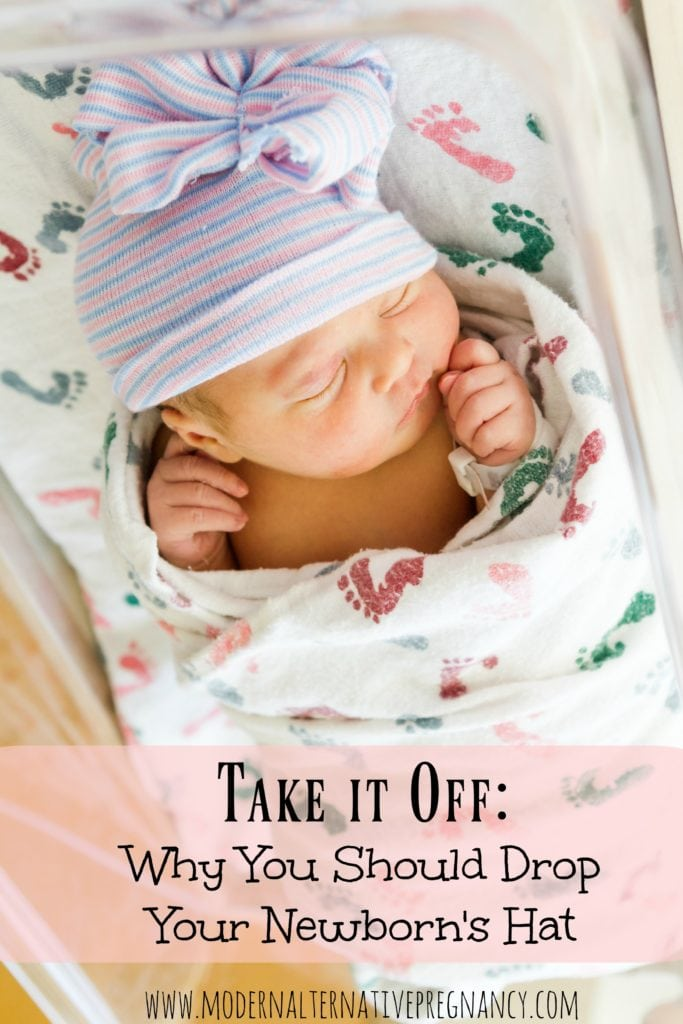 Take it Off Why You Should Drop Your Newborn's Hat pinterest