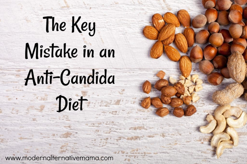 can i eat nuts on candida diet