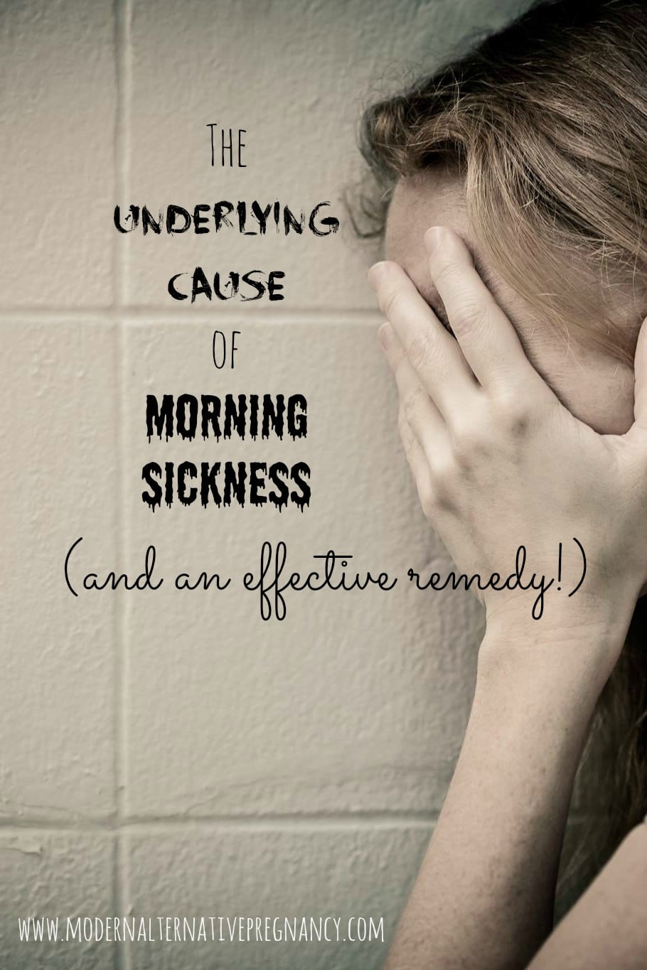 The Underlying Cause of Morning Sickness