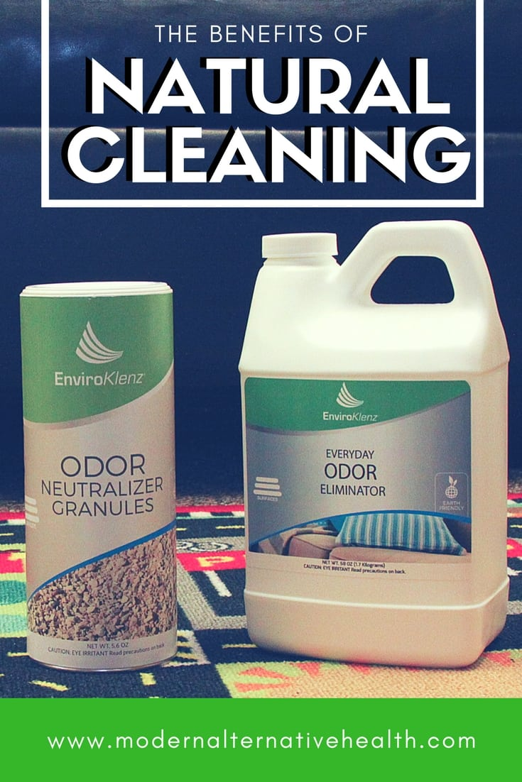 natural cleaning with enviroklenz