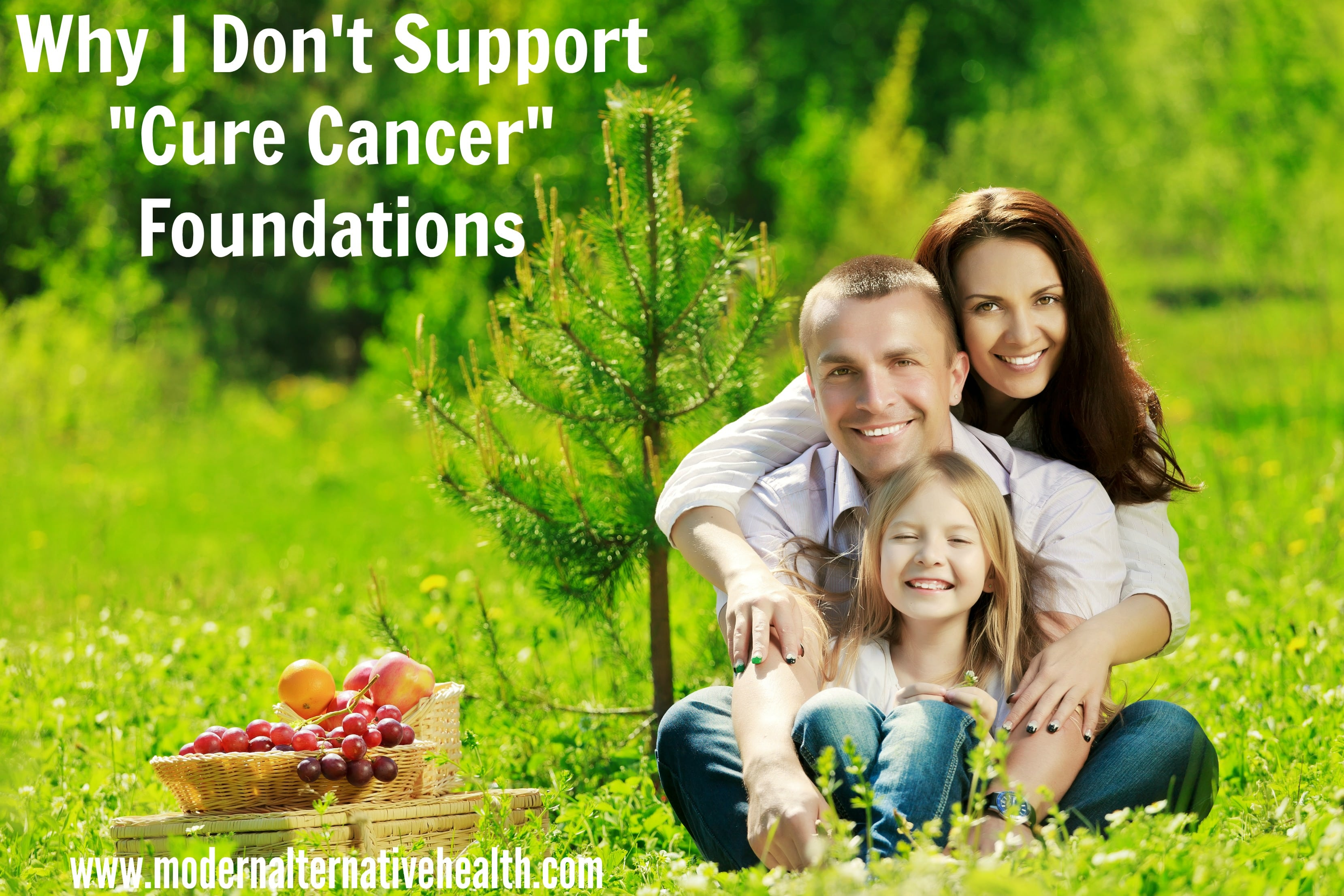 Why I Don't Support Cure Cancer Foundations
