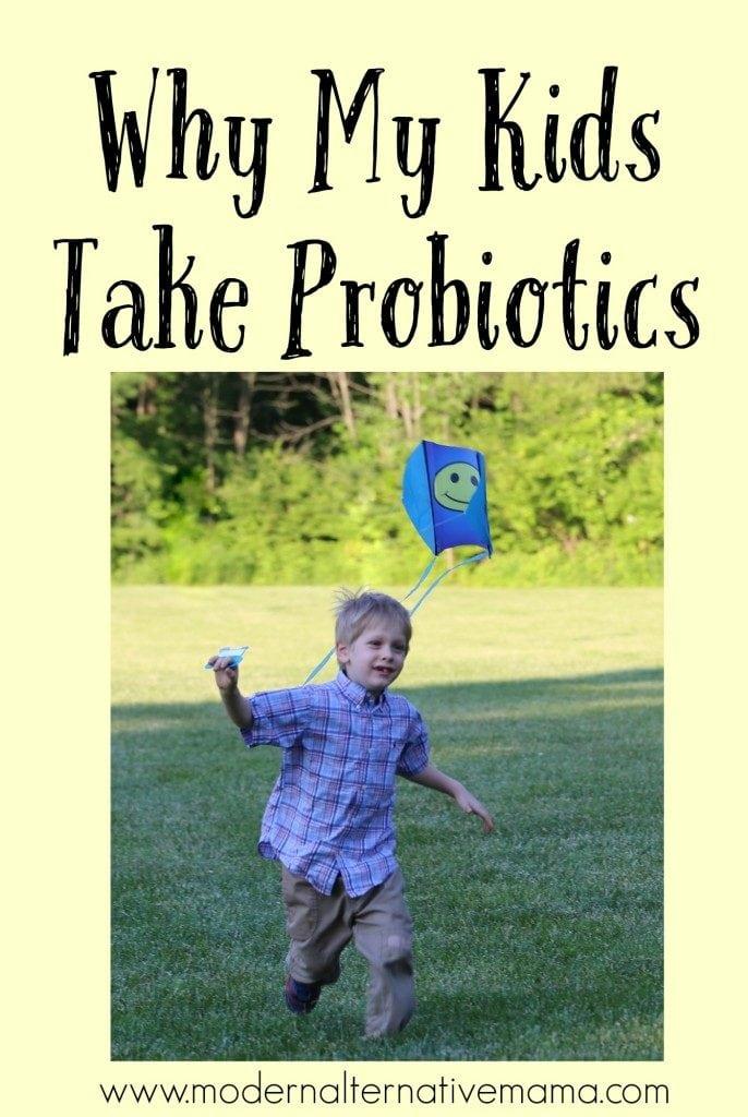 kids take probiotics