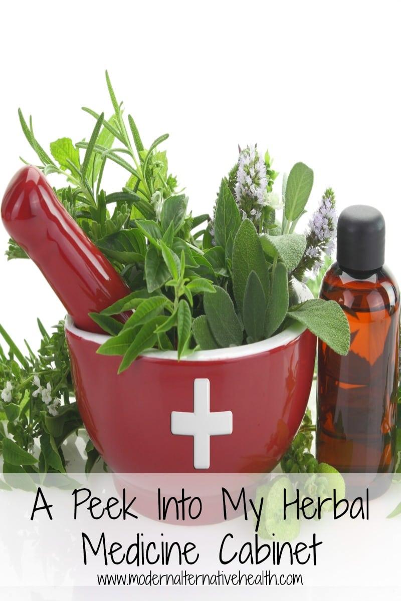 A Peek Into My Herbal Medicine Cabinet Modern Alternative Mama