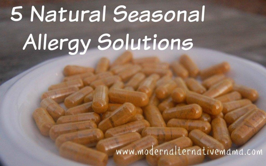 natural seasonal allergy solutions