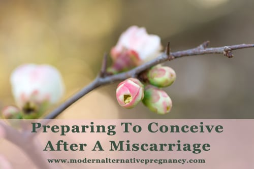 Preparing To Conceive After A Miscarriage