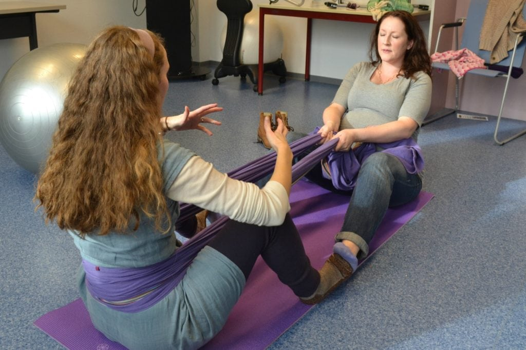 pushing with rebozo during labor