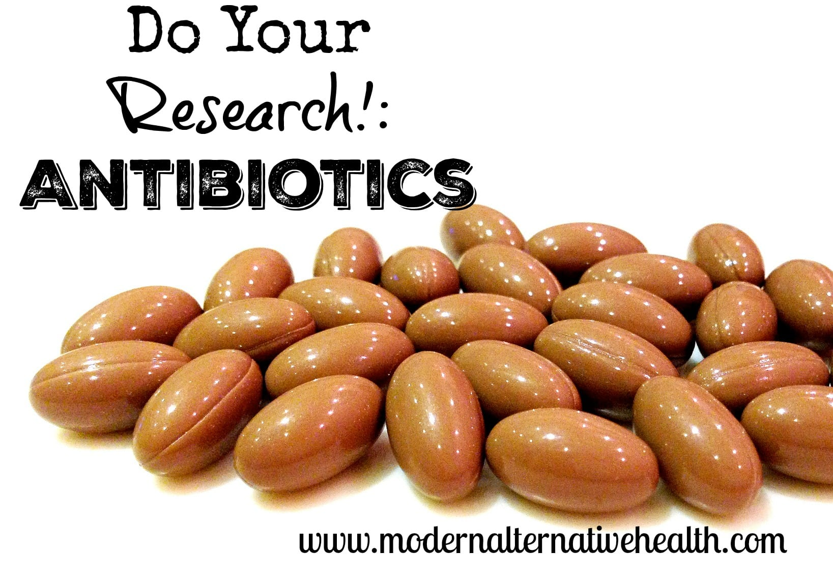 research antibiotics