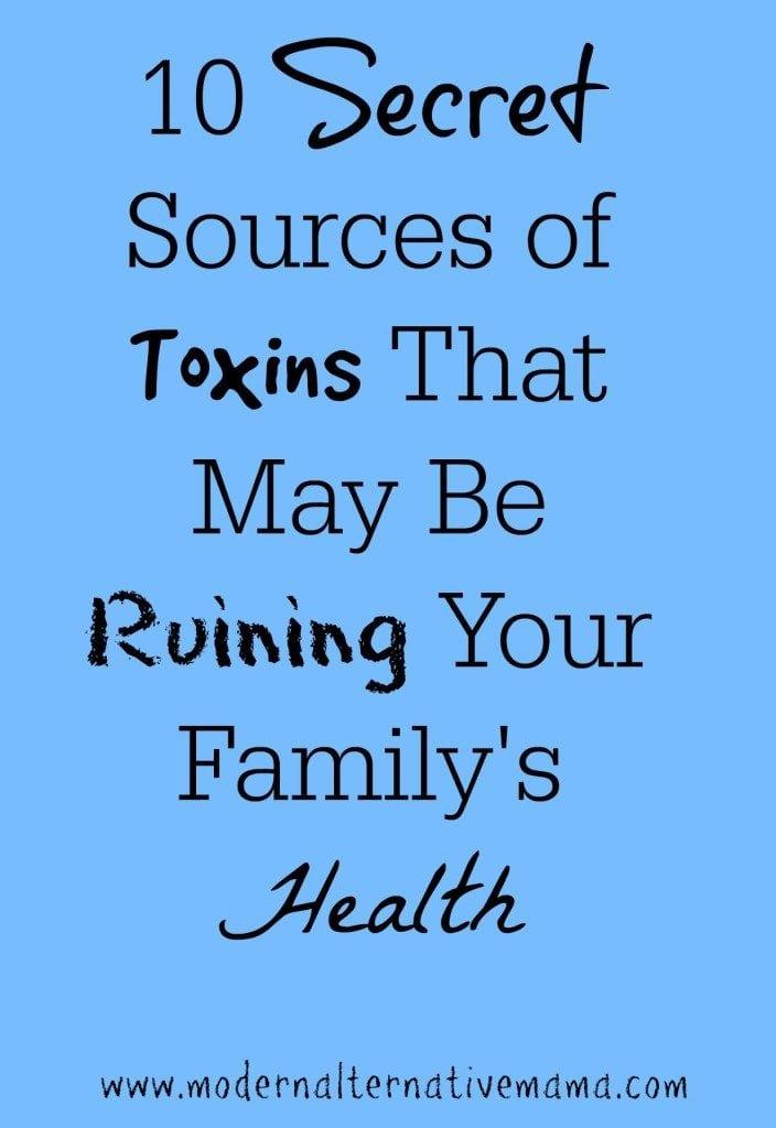 secret sources of toxins