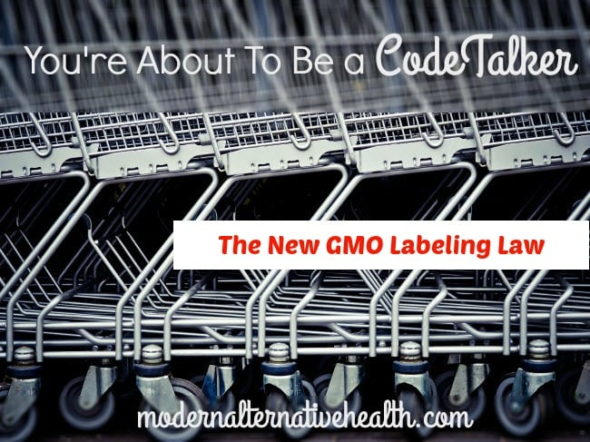 You're About To Be a CodeTalker: The New GMO Labeling Law