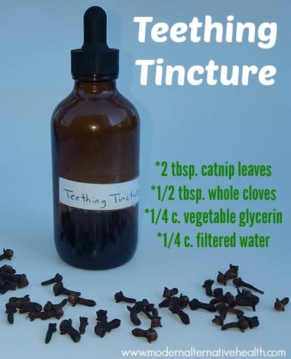 teething tincture graphic