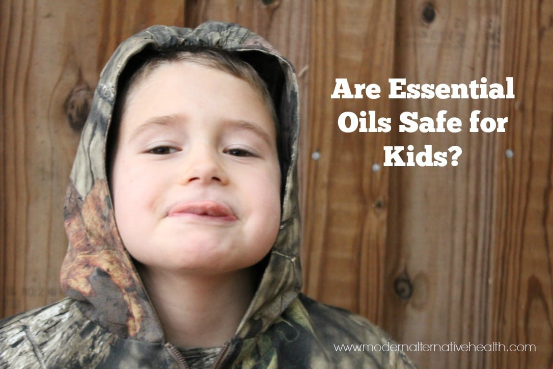 Are essential Oils safe for Kids?