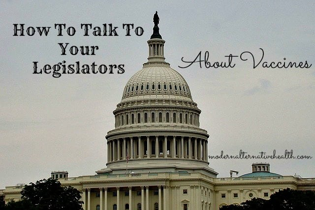 How To Talk To Your Legislators About Vaccines