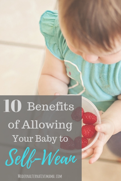 Benefits of Self-Weaning