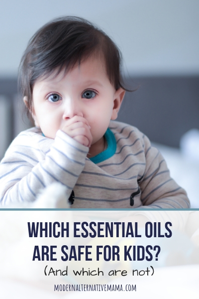 Which essential oils are safe for use with kids?