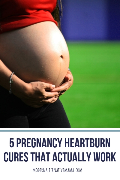 5 Pregnancy Heartburn Cures that Actually Work